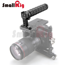 SmallRig Top Handle Grip with Top Cold Shoe Base for DSLR Camera Cage Video Camcorder Rig – 1446 (Rubber)