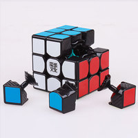 3x3x3 Moyu Weilong Gts Puzzle Magic Speed Cube Professional Educational Cubo Magico Stickerless Cube Toys For