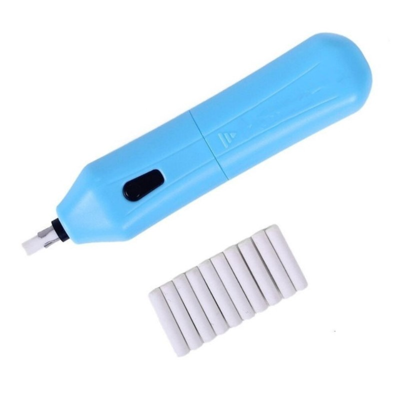 1 Set Electric Eraser Kit with Refills, Automatic Portable Rubber, Battery Operated, Suitable for Office, School, Adults brand high quality electric eraser with extra refills