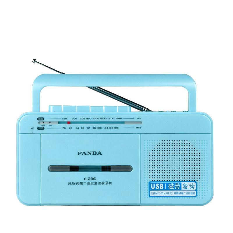 Здесь продается  Panda  F-236 repeater tape machine recorder english learning card u disk broadcast students  the machine   Бытовая электроника