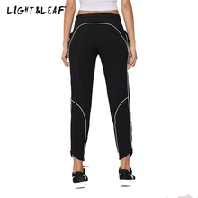 light&leaf women pants new fashion casual Woven workout loose girls brand quality beauty leggings