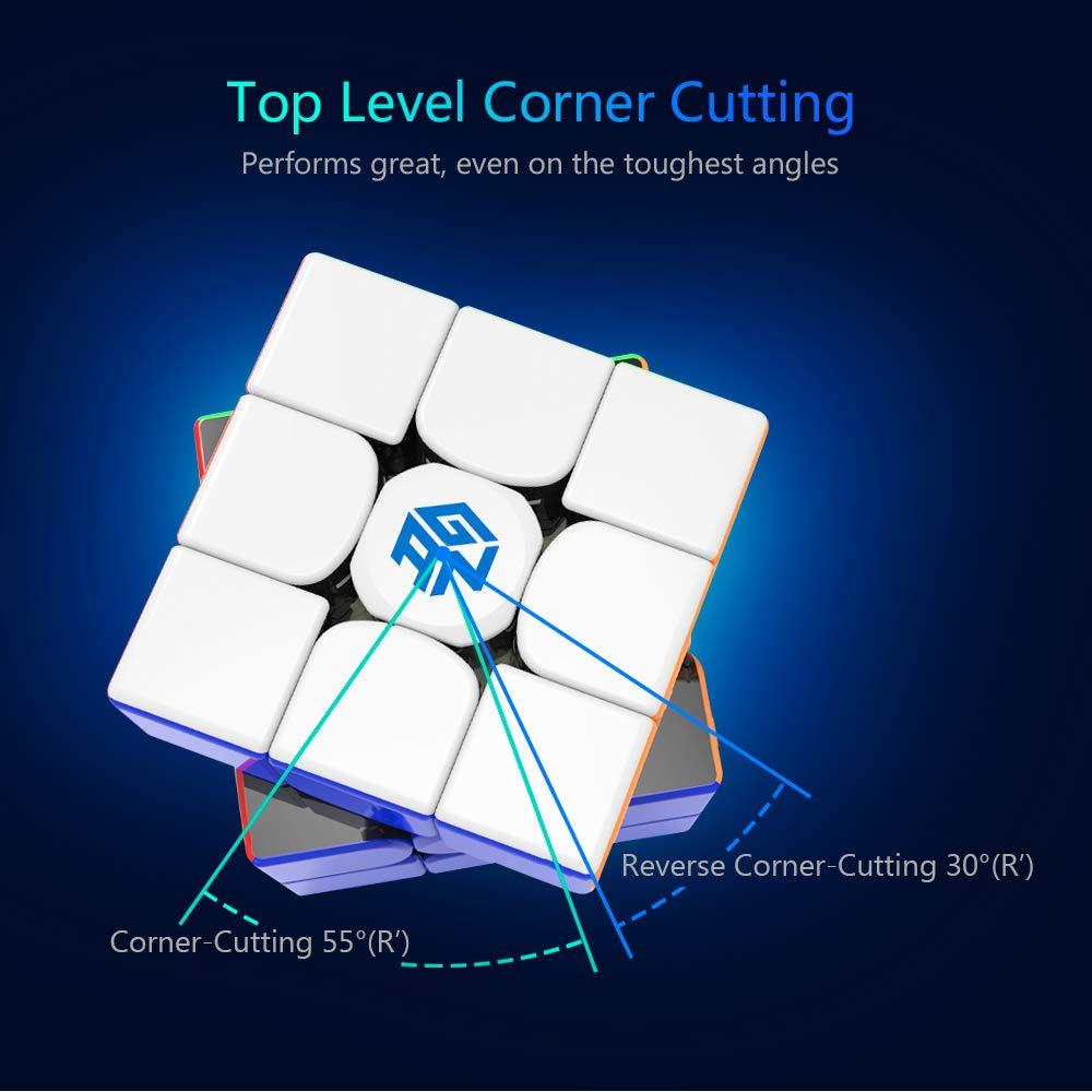 stickerless gans 356x cubo de quebra-cabeça magnético