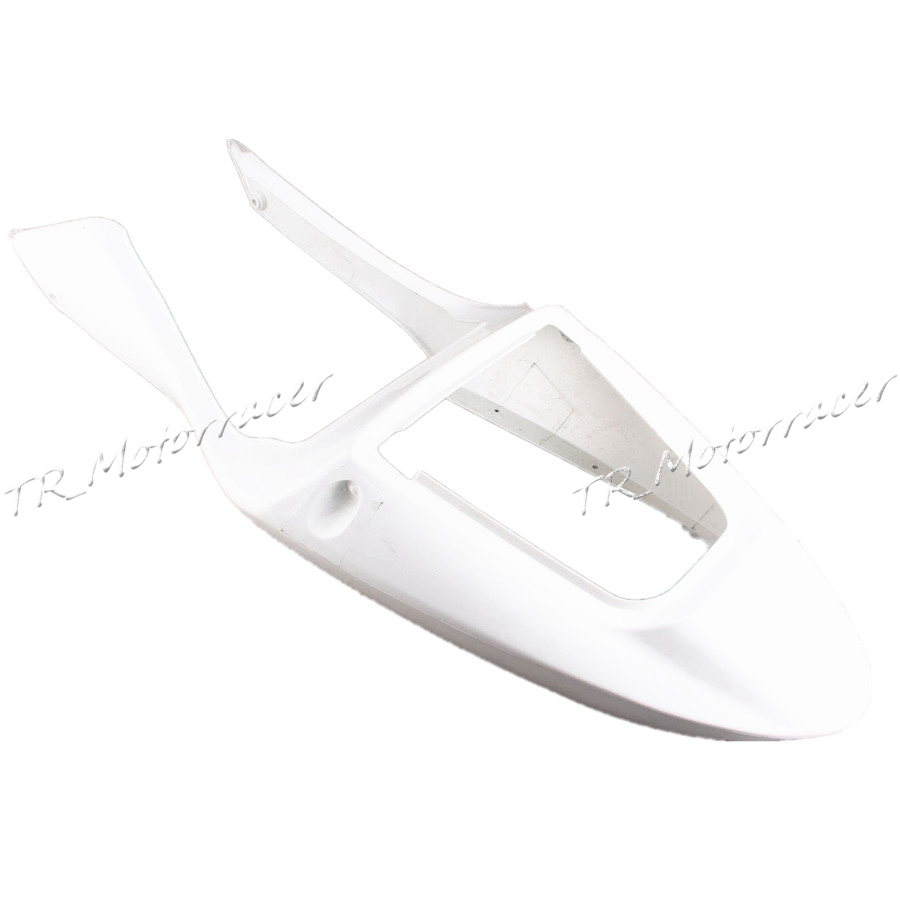 Unpainted Rear Tail Fairing For Honda CBR600 F4i 2001-2003 2002 White Motorcycle Accessories New ABS Plastic allgt raw abs plastic unpainted tail rear fairing for honda cbr 1100rr 1997 2007