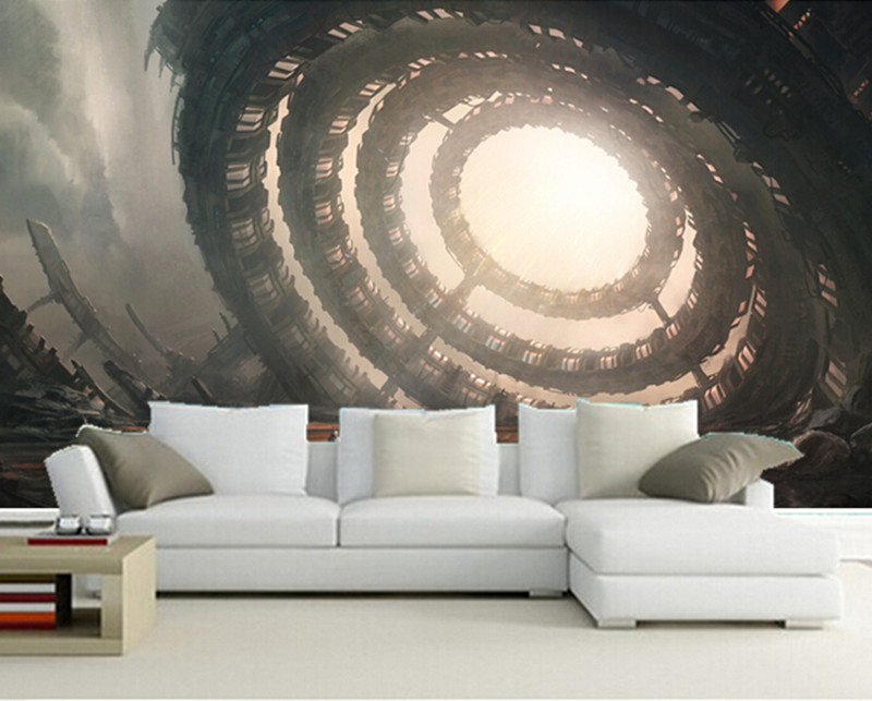 The custom 3D murals, 3D Cosmonauts Technics Fantasy sci-fi Fantasy wallpapers ,living room sofa TV wall bedroom wall paper technics technics rp dj1215e s