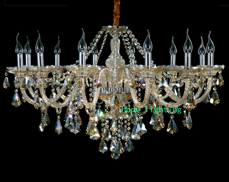 Indoor Modern Crystal Chandeliers Hanging Crystal Living Room Crystal Chandelier Kitchen Rope Light Chandelier Murano Glass Lights & Lighting