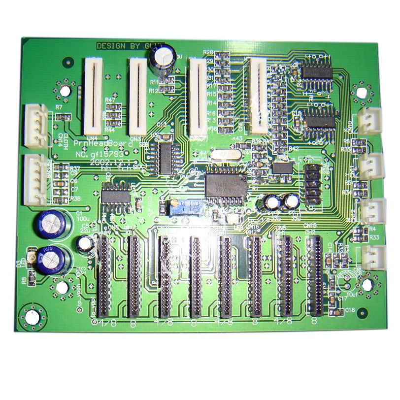 Challenger Infiniti FY-8250B Printer Printhead Board original type 4 way infiniti ink sub tank widely used for infiniti challenger phaeton large format printer
