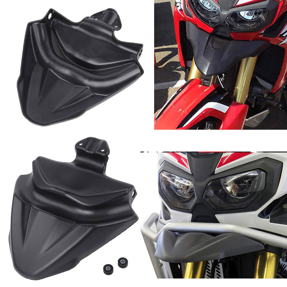 Motorcycle CRF 1000 L Front Nose Fairing Beak Extender Cowl Protector Fender Cover for 2016 2019