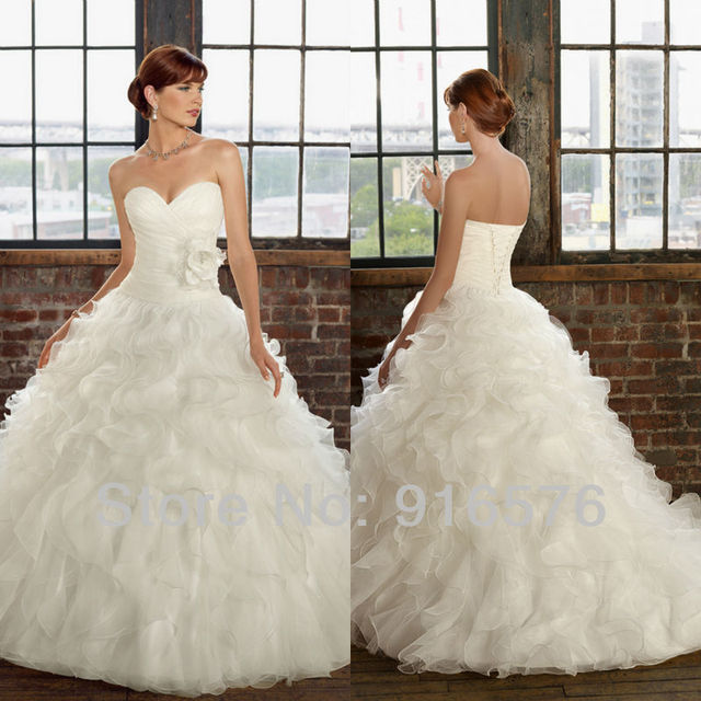 Couture Dresses Wedding Dress Ball Gown Bridal Gowns Horsehair ...