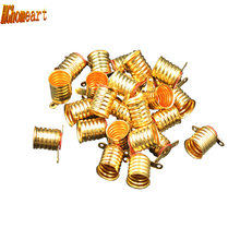 HGhomeart 50pcs Mini E10 Lamp Socket Lighting Accessories Lamp Fitting Pure Copper Lampholder Holder E10 Holder for Light Bulbs(China)
