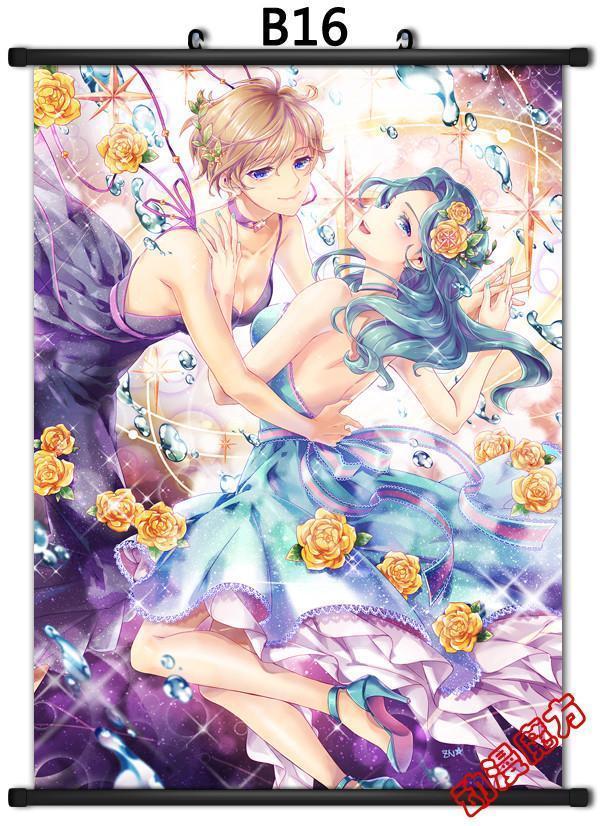 Japan Anime Sailor Moon Crystal Home Decor poster Wall Scroll 23.6x31.4 GO490