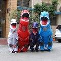 Traje de dinosaurio inflable dinosaurio dinosaurio mono ropa divertidos disfraces de halloween disfraces cosplay animal