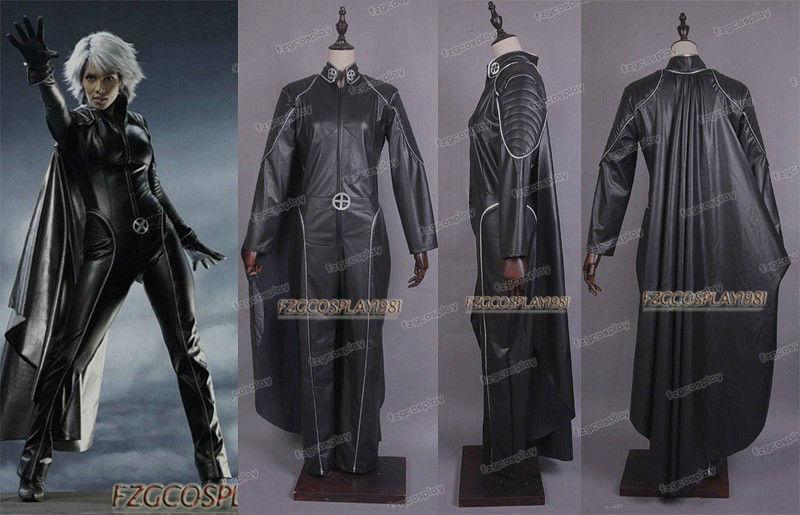 X-men Storm Halle Berry Jumpsuit Costume /<Custom Made/>