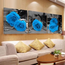 Painting the wall canvas painting tableau flower art  sur toile panel modern abstract decorative