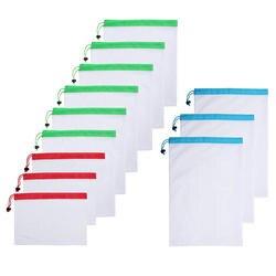 Pawaca кухня магазин 12 шт./компл. многоразовые сетчатые сумки Сумки для хранения дропшиппинг ссылка