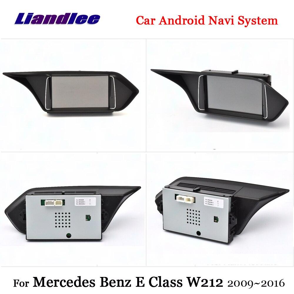 Liandlee Car Android 7.1 For Mercedes Benz E Class W212 2009~2012 Radio Carplay Camer TV BT GPS Navi Map Navigation Multimedia (6)