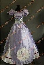 Hot Sale! Custom Made High Quality Princess Sophia Dress Cosplay Costume for Christmas/ Halloween fancy dress 004