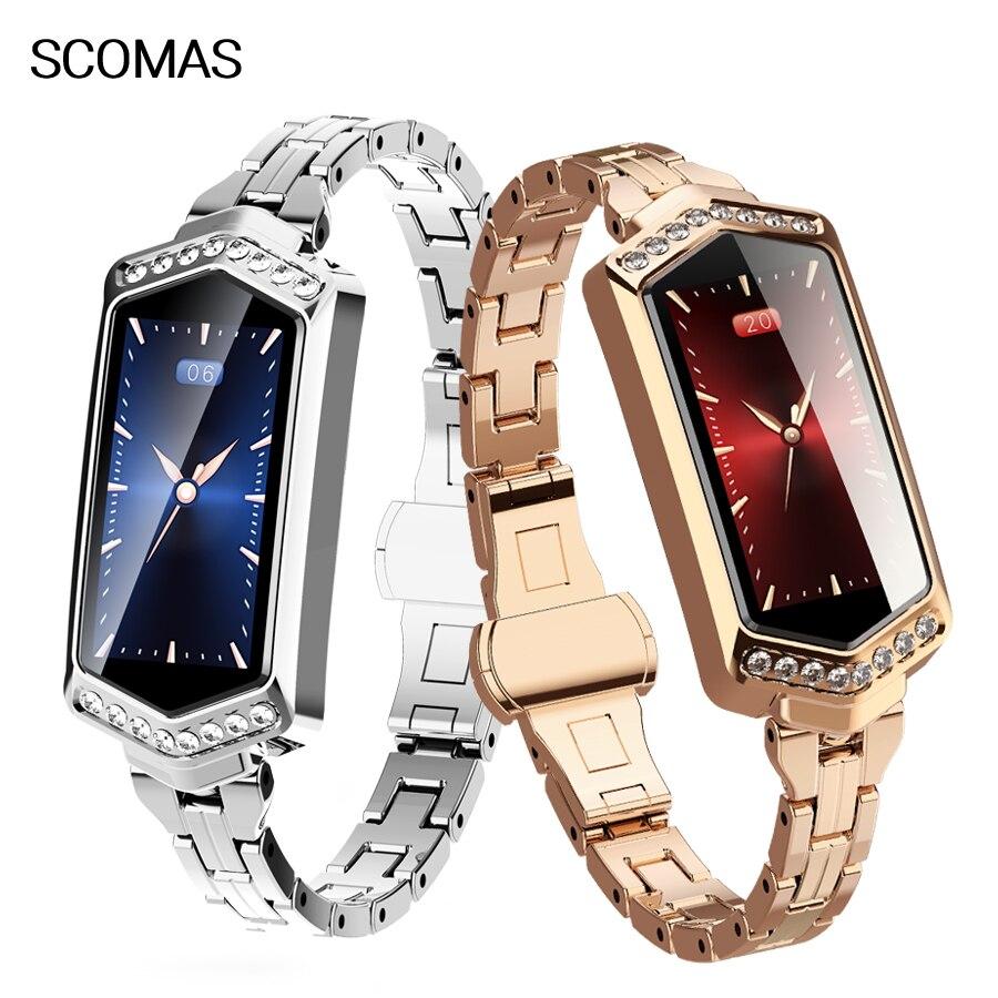 Reloj inteligente S78 IP67 de lujo para mujer, reloj inteligente resistente al agua con control del ritmo cardíaco y de la presión sanguínea, monitor, seguidor Fitness|Relojes inteligentes| - AliExpress