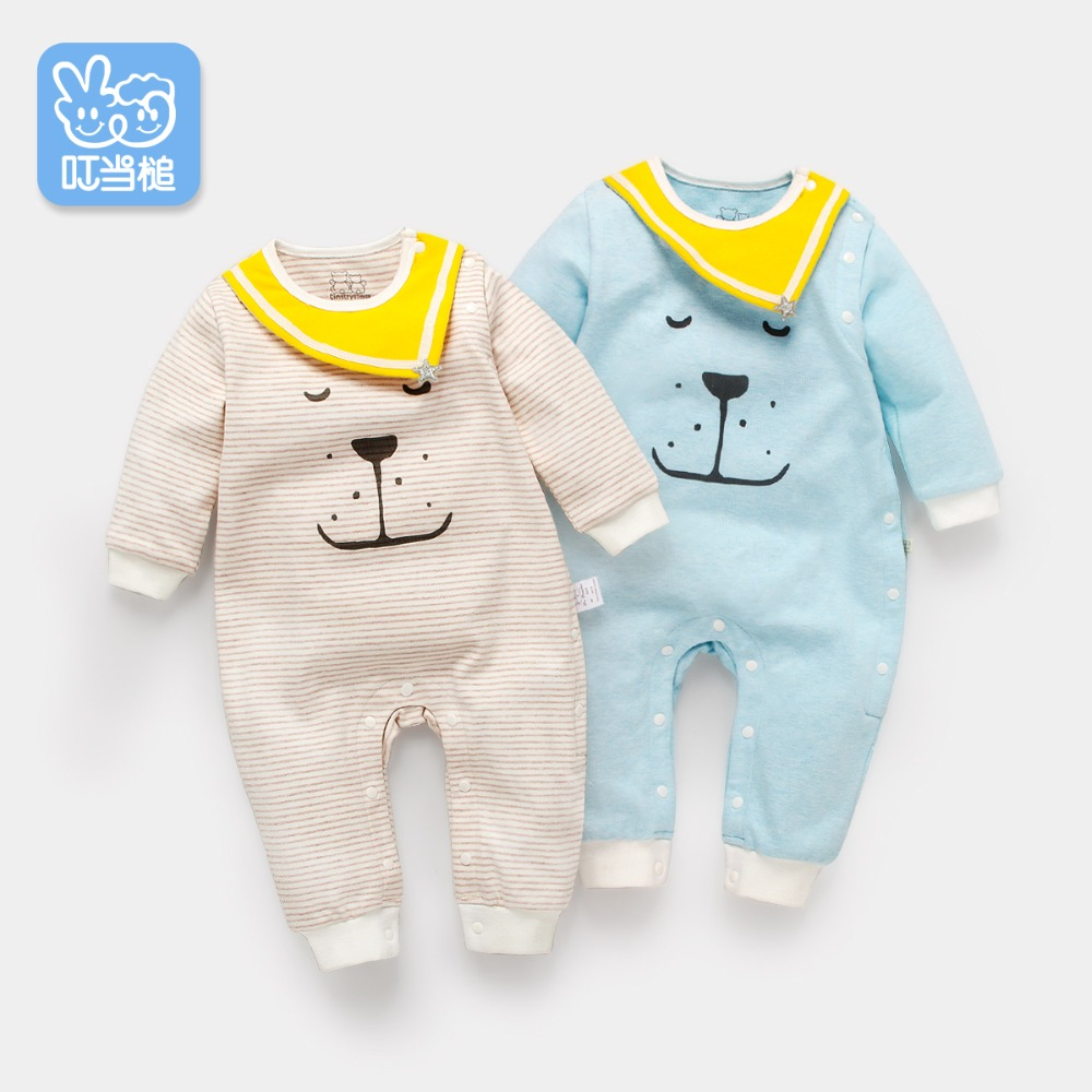 0b627e222b43 Detail Feedback Questions about Dinstry baby onesies spring and autumn baby  romper autumn newborn lion knit baby clothes on Aliexpress.com