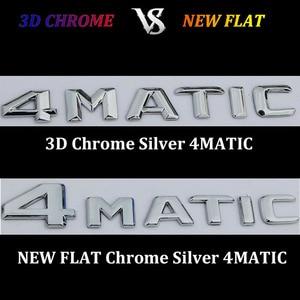 Image 2 - 3D Chrome W204 W205 Embleem C200 C250 C300 C350 C63 Cla Brief Auto Sticker Badge Logo Emblema Voor Mersedes mercedes Benz Amg