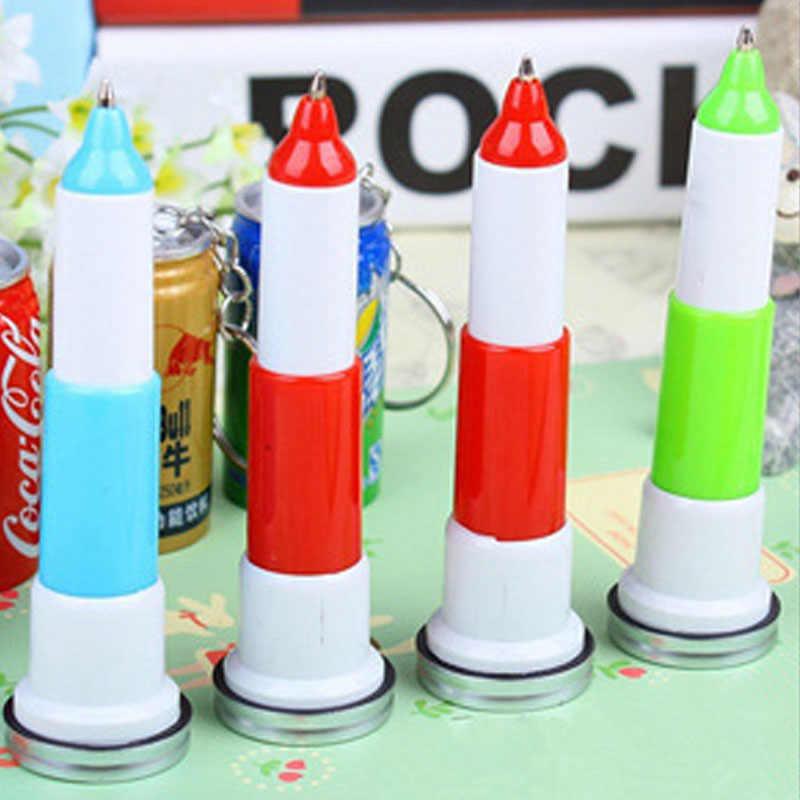 6 шт. дети напитки ручки Творческий шариковая ручка выдвижной банок шариковые подарки Оптовая продажа канцелярские принадлежности для школы поставки