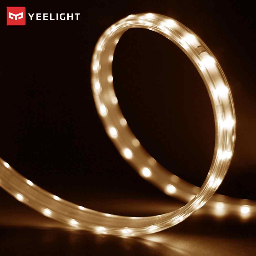 Nieuwe Xiao mi yeelight Led 5 m TOT 30 meter smart Light Strip Smart Home Voor mi app WIFI werkt met Alexa Google Home Assistent