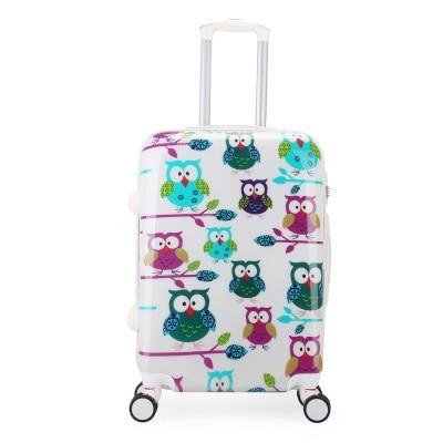 6671e1b5f Cubierta de equipaje de dibujos animados REREKAXI maleta cubierta de  protección elástica 18-32 pulgadas