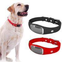 Mini Electric Tracer Locator Posizionamento GPS Cane Display LCD Intelligente Tracker Anti Perso Inseguimento Antifurto Adattatore Per Pet Sitter