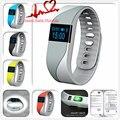 M2S Smartband nRF51822 Bluetooth 4.0 Pulsera Inteligente Podómetro anti-perdida Heart Rate Monitor Remoto de La Cámara Inteligente Pulsera de La Venda