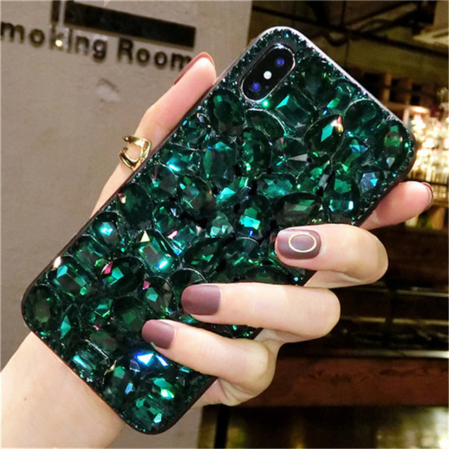 on sale 99b14 b7bc6 US $9.79 30% OFF|1Pcs Case For Coolpad Defiant 3632A Luxury Crystal  Rhinestone Diamond Bling Phone Case For T Mobile Coolpad Revvl Plus 6