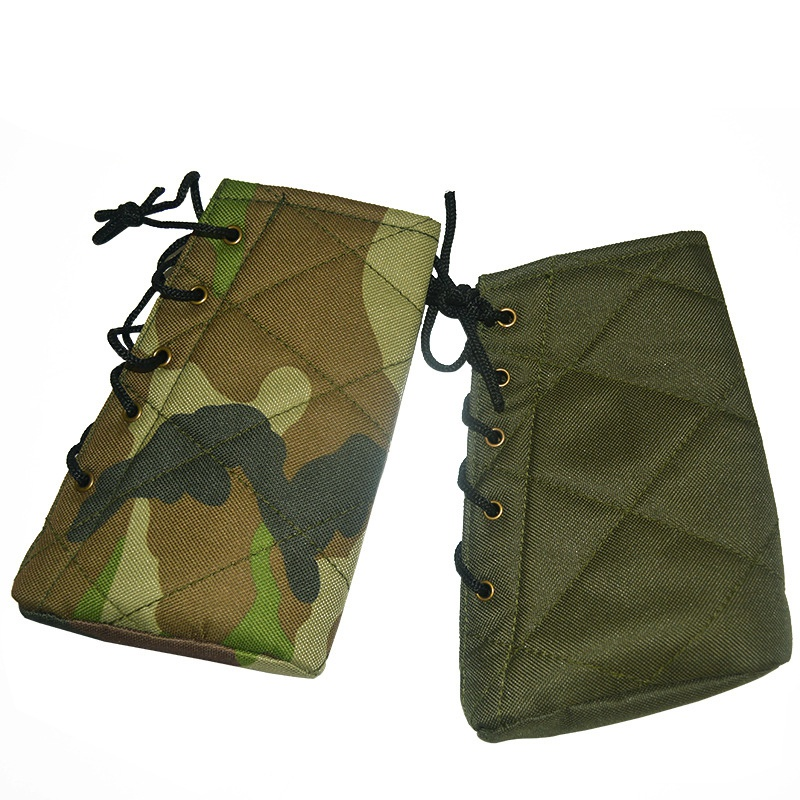 Image 5 - New Arrival Outdoor Tactical Buffer Suitable For Varieties of Shoting Butts Hunting Rifle Oxford Cloth Protective Cover im-in Holsters from Sports & Entertainment