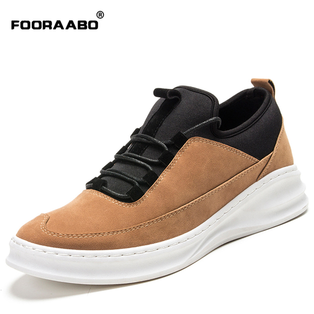 Men Shoes Lace Up Designer Spring Autumn Fashion 2016 Men Casual Shoes Outdoor Male Walking Shoes For Men Nubuck Leather Shoes