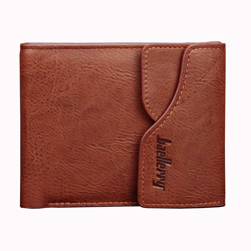 Wallet Vintage Short Men's Purse Card Holder Pocket Wallets Man Small Money Billfold PU Leather Pocket Purse Hot Sales Trifold westal genuine leather men wallets leather man short wallet vintage man purse male wallet men s small wallets card holder 8866