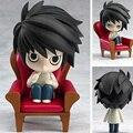 Death Note Figuras de Acción 10 CM PVC Figura de Colección de Juguetes, Muñecas lindas Figuras de Acción Estatua, Figura del anime Figuras Juguetes Para Niños