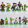 12 unids/set Nuevo The Legend of Zelda Figura Furuta Choco huevo Juguetes