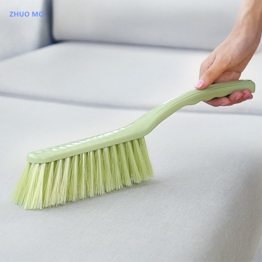 14.9 inch long handle soft cleaning brush window cleaner Plain plastic bed brush Household cleaning tools