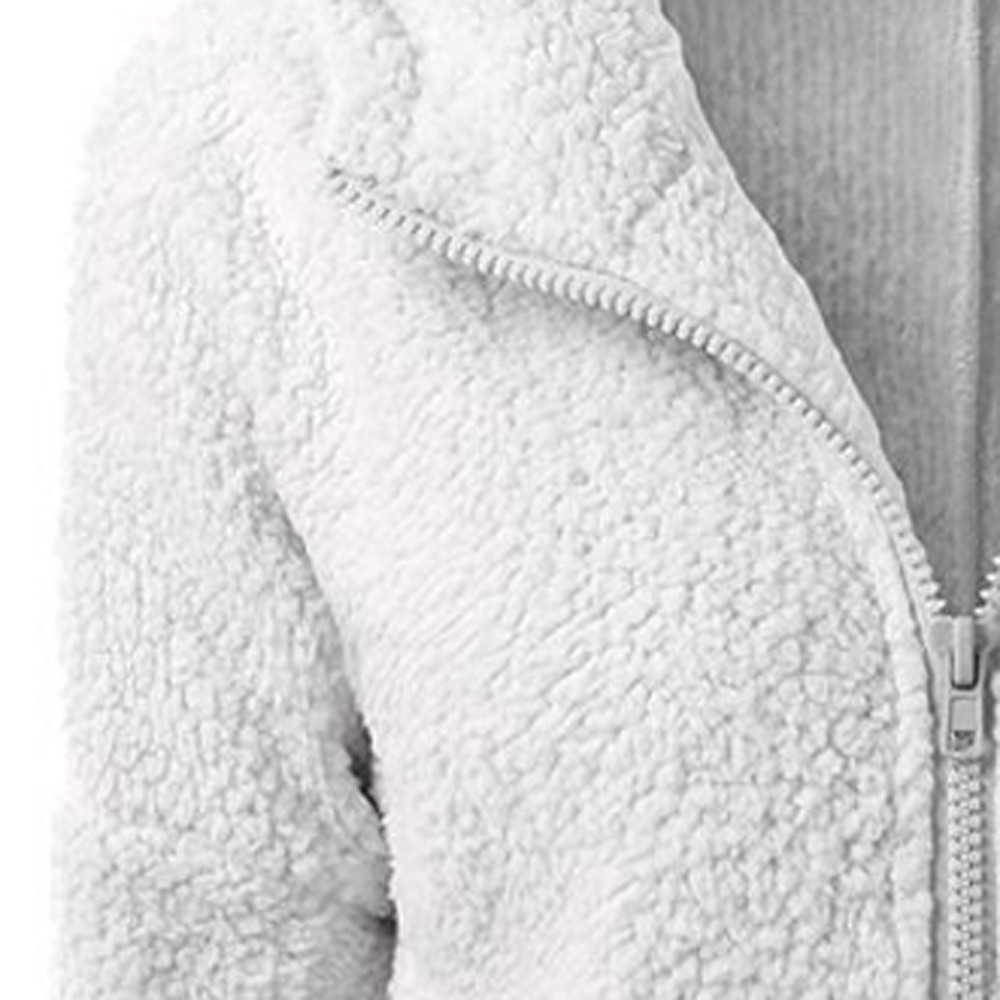 HTB1BIVIX2jsK1Rjy1Xaq6zispXap Women Solid Color Coat Thicken Soft Fleece Winter Autumn Warm Jacket Hooded Zipper Overcoat Female Fashion Casual Outwear Coat