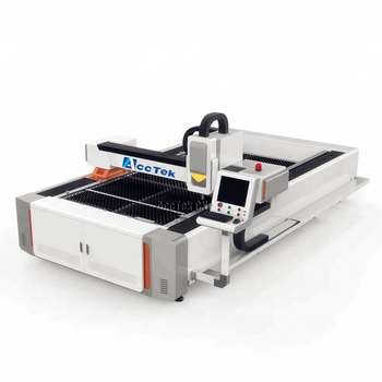 Z certyfikatem system kontroli cięcie metalu laserem światłowodowym maszyna 3015 Raycus 1000 W 1500 W