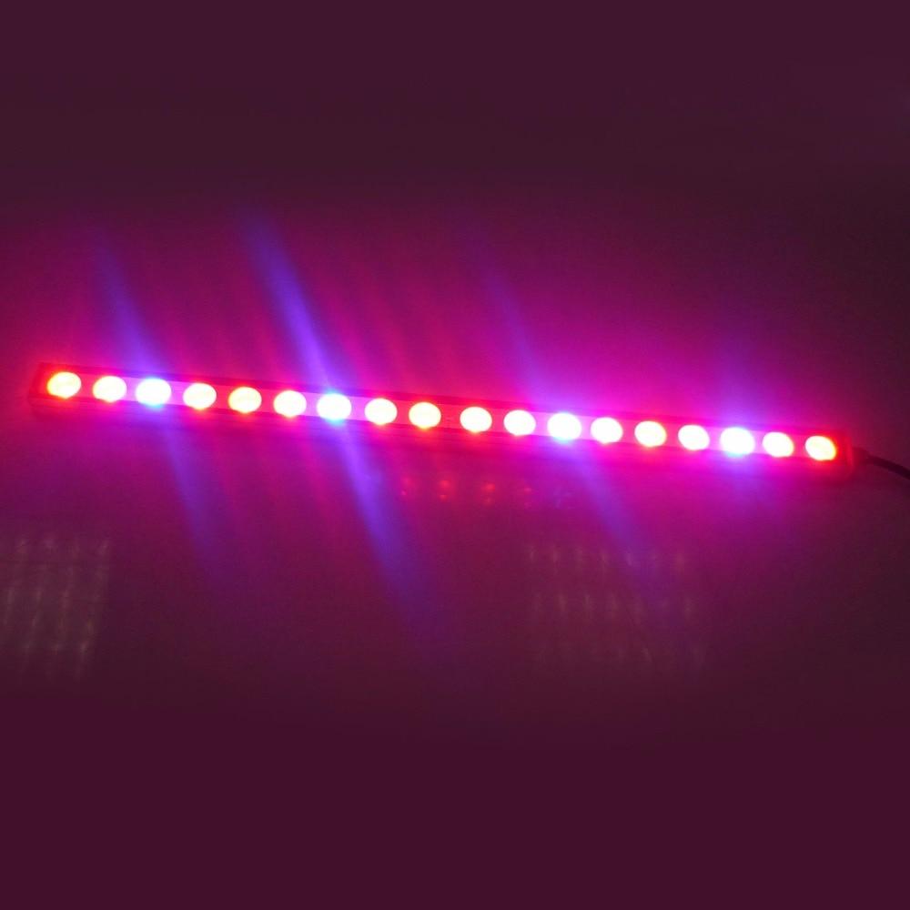 ФОТО hot sale Waterproof 54W/81W/108W LED Grow Light Bar Red+Blue for Indoor Plant Lamp Veg Flower Strip Lamp Hydroponic Lighting