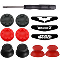 12 in 1 for Playstation 4 ps4 DS4 Pro Slim Controller Analogue Thumbsticks + 4 Joystick Grips + 3 LED Light Bar Stickers + Tool