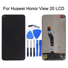"""6.4 """"Originele Voor Huawei Honor V20 View 20 Lcd Touch Screen Digitizer Vergadering Voor Huawei Nova 4 Telefoon vervangende Onderdelen"""