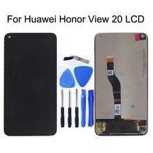 Pantalla LCD de 6,4 pulgadas para móvil montaje de digitalizador con pantalla táctil, piezas de repuesto para Huawei Honor V20 View 20