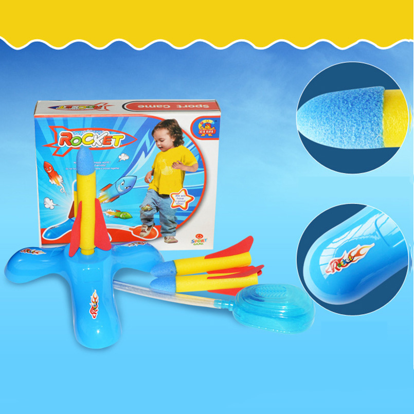 Outdoor Fun Sports Stomp Rocket Launcher Out Door Toys For Children Educational Game Toys For Kids