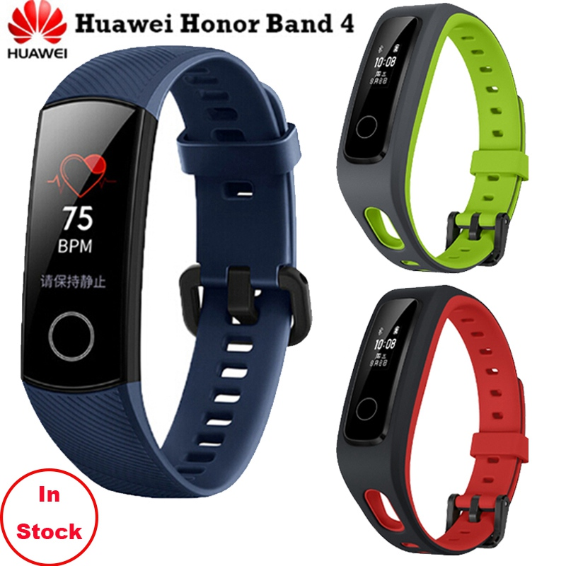 Auf Lager! original Huawei Honor Band 4 Laufen/Standard Version Smart Armband Schuh-Schnalle Sport Land Auswirkungen Professionelle Beratung