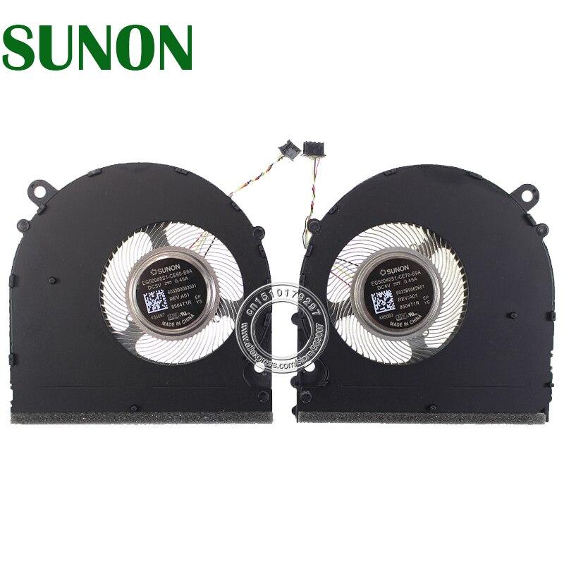 EG50040S1-CE60-S9A EG50040S1-CE70-S9A DC5V 0.45A 6033B0063501 6033B0063601 For Xiaomi 15.6 PRO GTX Cooling Fan