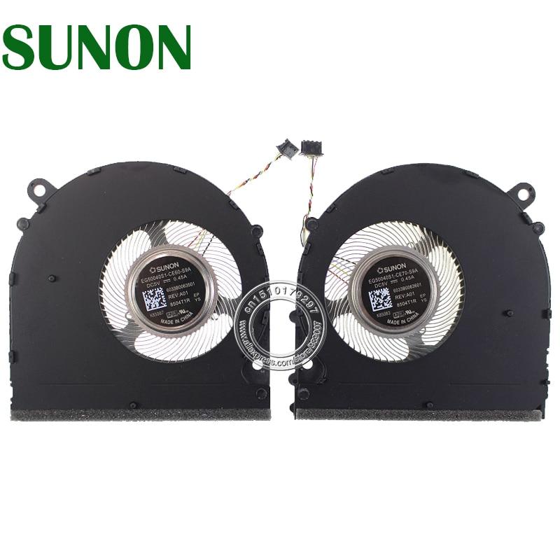 EG50040S1-CE60-S9A EG50040S1-CE70-S9A dc5v 0.45a 6033b0063501 6033b0063601 para xiaomi 15.6 pro gtx ventilador de refrigeração