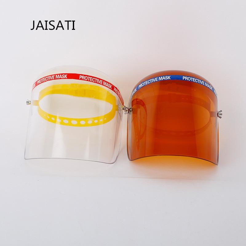 JAISATI Full Screen Splash PC Material Mask Integral Molding High Quality Adjustable Wearable Face Mask decade mt506mv5wv touch screen mask