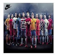 Cool Poster Custom All Star Neymar Ronaldo Soccer Football Team 50x76 Cm Classical Stylish Free Shipping