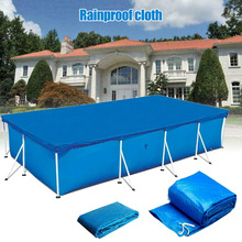 2019 Newly Rectangular Swimming UV-resistant Pool Cover Waterproof Dustproof Durable Covers MSD-ING