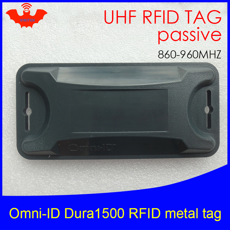 UHF RFID Anti-metal Tag Omni-ID Dura 1500 Dura1500 915mhz 868m Alien Higgs3 EPCC1G2 6C Durable ABS Smart Card Passive RFID Tags