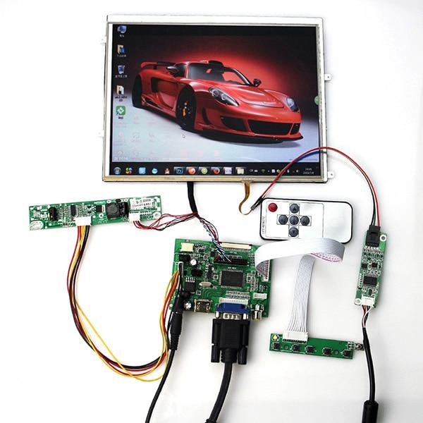 все цены на HDMI VGA 2AV LCD Controller Driver Board For 9.7 inch LTN097XL01 1024*7681024x768 +LDVS Cable онлайн
